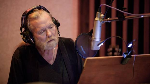 Gregg Allman in Studio