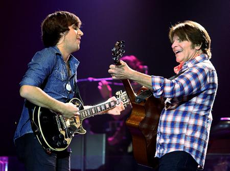 John and Shane Fogerty