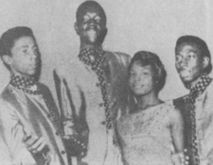 Bob Marley, Peter Tosh, Beverley Kelso and Bunny Livingston 1964